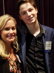 With Gen Z phenom, Patrick Finnegan, at the Marketing to Gen Z conference. 10/6/16